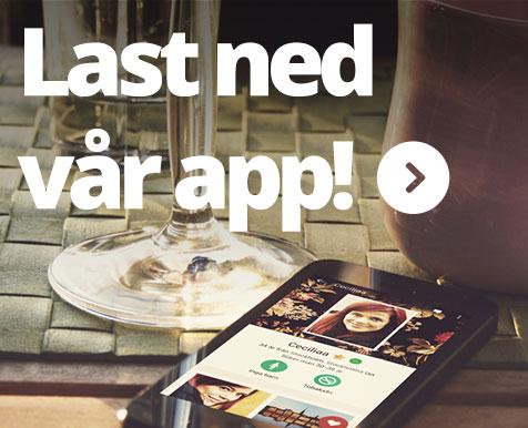 Last ned vår app!
