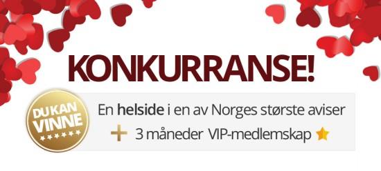 Vinn Norges største kontaktannonse!