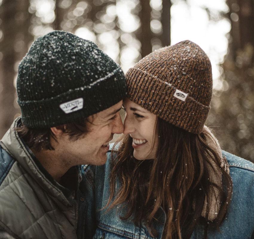 Lykkelig ett år av dating