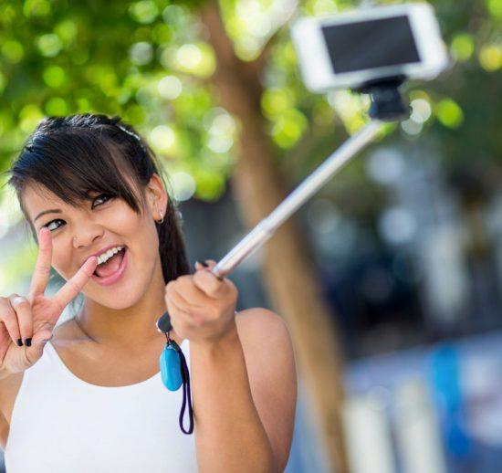 Selfiestang – nettdaterens beste venn