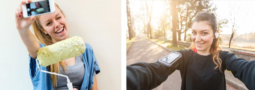 JA. Selfier i hverdagen din, som viser en interesse eller hvem du er som person, kommer til å gi deg nye kontakter.