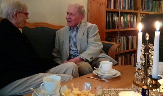 Bo, 90, og Elin, 81:  «Vi ble hodestups forelsket»