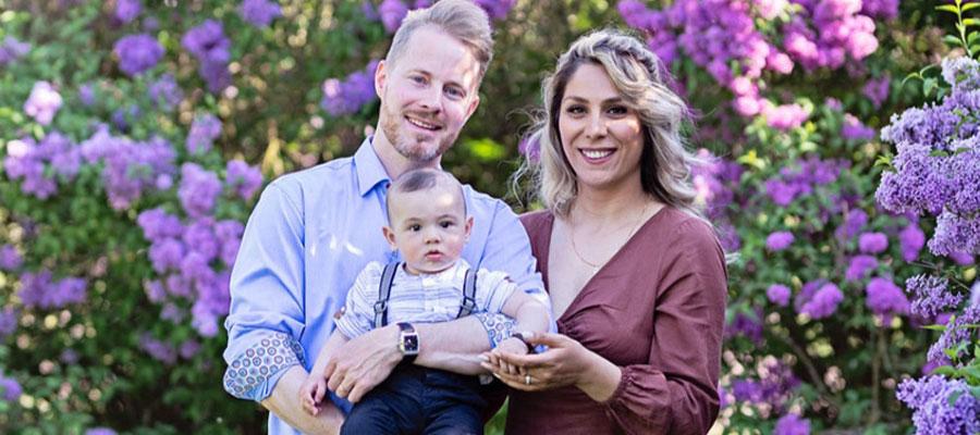 Nå har Marjan og Niklas skapt en liten familie. I 2018 kom sønnen Matteo.
