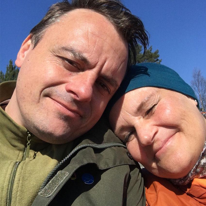 Ann Kristin møtte kjærligheten etter kreftbehandling