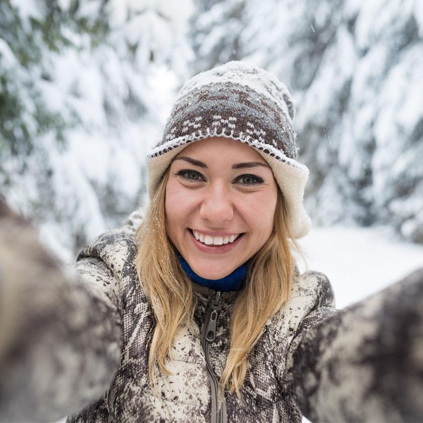 Koronasikker vinterdate – dette kan dere gjøre!